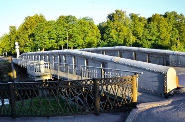 Первый капремонт ожидает Доковый мост вКронштадте