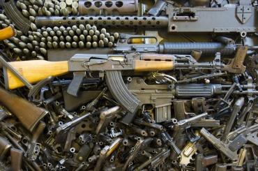 Полиция собирает оружие