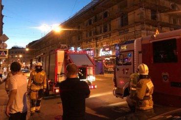 Очевидцы: трансформаторная будка взорвалась вклубе наДумской