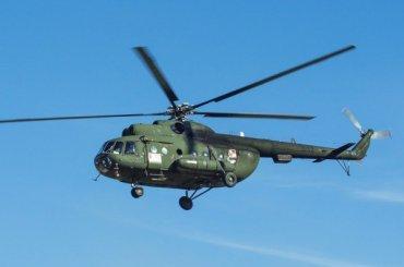Вертолет Ми-8 рухнул вРоссии: все пассажиры погибли