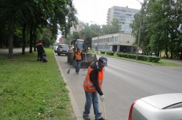 Свыше 500 тонн мусора вывезли занеделю вПетербурге