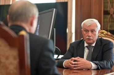 Полтавченко собирается идти нановый губернаторский срок