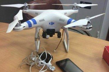 Квадракоптеры летают в«Кресты»