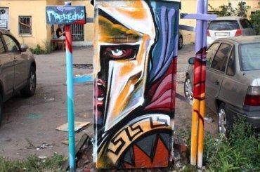 Стрит-арт объявил войну незаконной рекламе вПетербурге