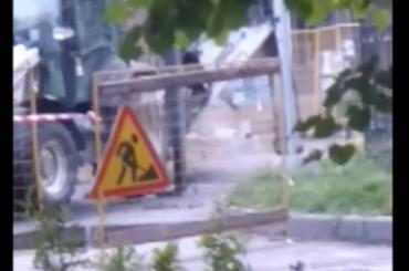 Газопровод прорвало наПетровском проспекте вПетербурге