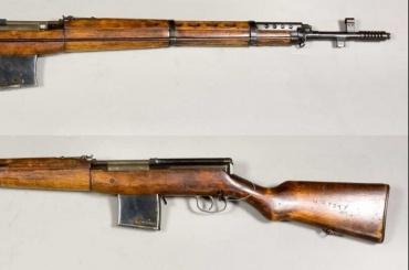 Оружие времен Второй мировой нашли упетербуржца