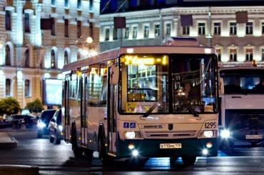 Ночные автобусы вКалининском районе меняют маршрут