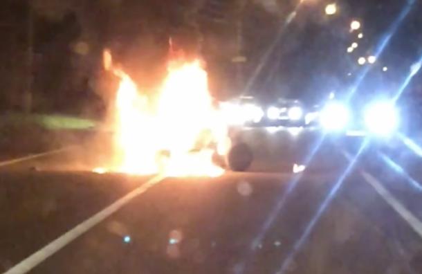 Подросток сгорел наквадроцикле вЗеленогорске