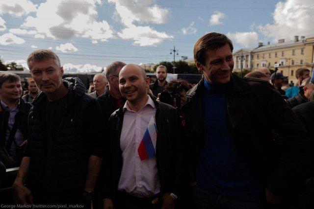 Митинг против пенсионной реформы в СПб, 16.09 3