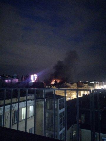 Пожар на Свечном 4
