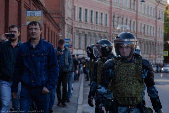 Митинг против пенсионной реформы в СПб, 16.09 1