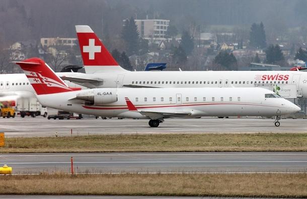 Более 100 пассажиров немогут вылететь вТбилиси