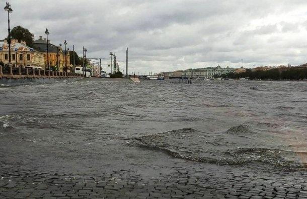 Петербург ждет штормовой циклон инаводнение