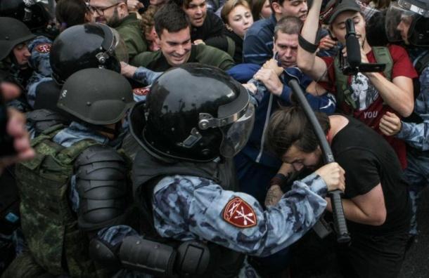 Насиловиков пожаловались вСК заразгон митинга 9сентября