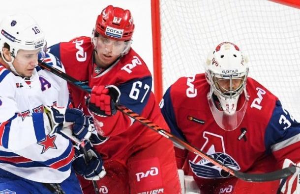 СКА навыезде обыграл ярославский «Локомотив»