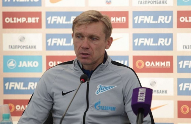 Горшков покидает пост главного тренера «Зенита-2»