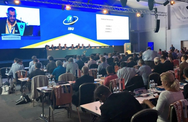 IBU отказался восстановить вправах Союз биатлонистов России
