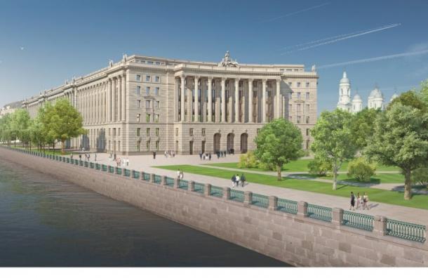 «Коммерсантъ»: сроки строительства судебного квартала вПетербурге сорваны