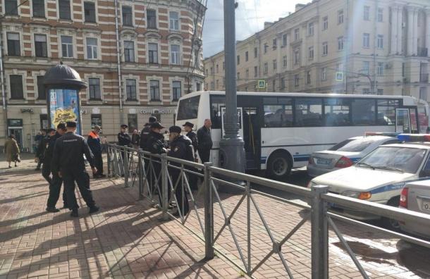 Метрополитен прокомментировал закрытие «Площади Ленина» вдень митинга