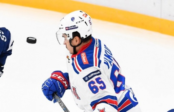 СКА разгромил вМоскве «Динамо»