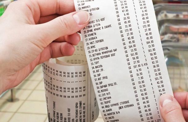 Средний чек поПетербургу вавгусте составил 844 рубля