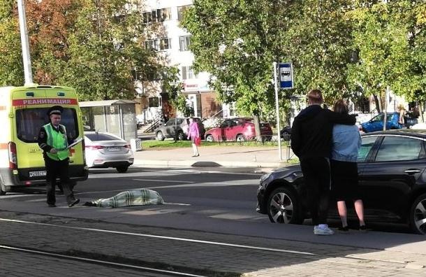 Легковушка сбила насмерть пешехода наБухарестской