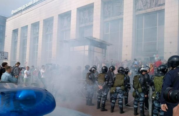 Петербургские суды рассмотрели более 250 дел позадержанием 9сентября