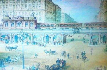 Наземное метро могло появиться вПетербурге вXX веке