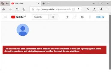 НаYouTube заблокировали канал Versus Battle
