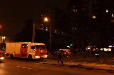 Ночью вразных районах Петербурга горели машины
