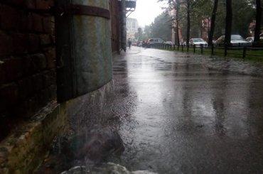 Ливни ишторм обрушатся наПетербург 18сентября