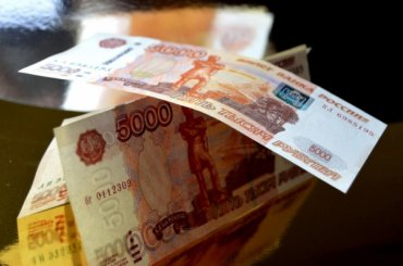 Фальшивые пятитысячные купюры вбросили вроссийские банкоматы