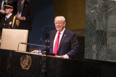 Выступление Трампа вООН рассмешило участников сессии