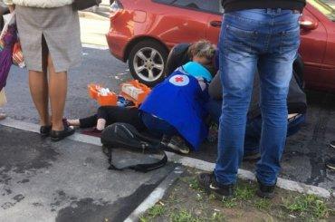 Школьница попала под машину напроспекте Наставников