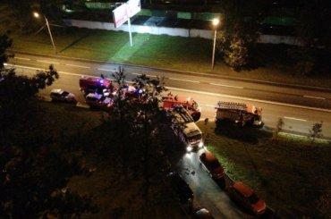 Один человек пострадал при взрыве наНародного Ополчения