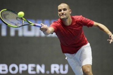 Теннисист Михаил Южный провел вПетербурге последний матч вкарьере