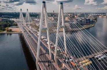 Ремонт участка КАД уБольшого Обуховского моста ограничит движение