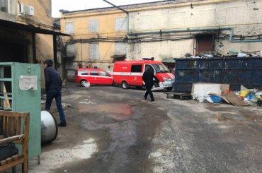 Боеприпас времен войны взорвался вбытовке завода вПетербурге