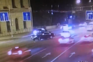 Подполковник МВД влетел виномарку около Литейного моста