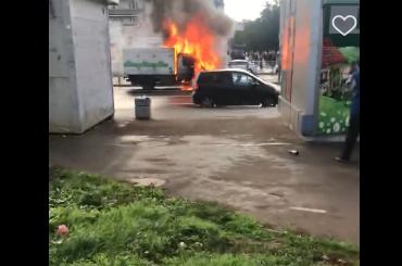 «Горит ивзрывается»: пожар насевере тушили спасатели