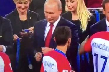Хорватский футболист рассказал, почему непожал руку Путину
