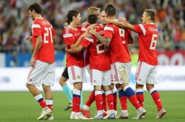 Сборная России пофутболу поднялась на46-е место врейтинге ФИФА