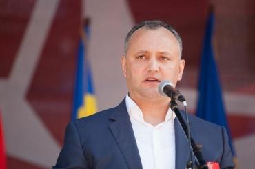 Кортеж спрезидентом Молдавии врезался вфуру