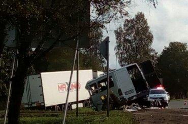 Четыре человека погибло вДТП вВолосовском районе