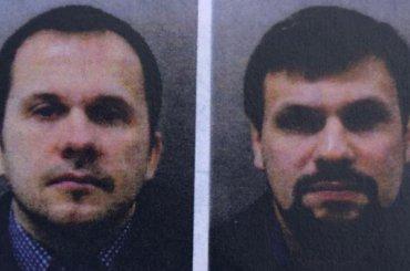 Подозреваемые вотравлении Скрипалей представились бизнесменами изПетербурга