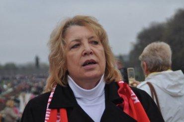 Депутат ЗакСа Ольга Ходунова призвала протестующих неуходить сулиц