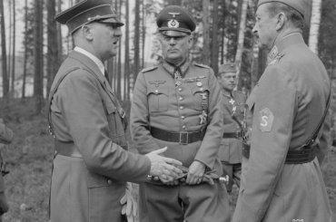 ВФинляндии опубликовали все снимки визита Гитлера