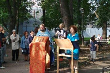 ВПетербурге начали читать имена погибших вблокаду