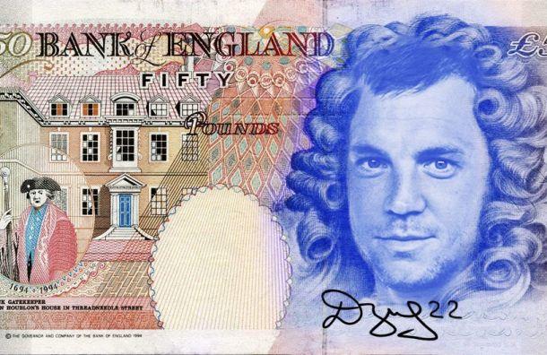 «Зенит» показал дизайн банкноты в50 фунтов сизображением Дзюбы