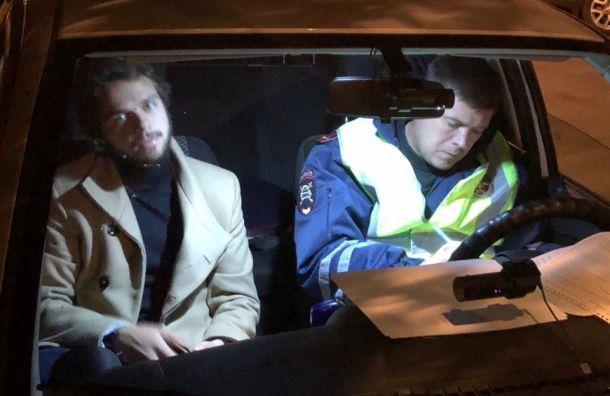 Пьяный футболист «Крыльев Советов» попался ГИБДД